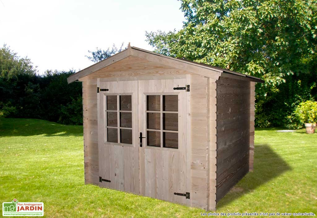 Abris de jardin bois tarifs en baisse mobilier de for Blog amenagement jardin