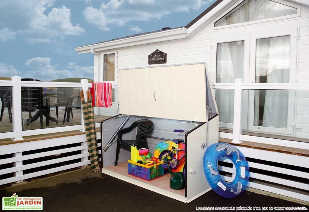 Des rangements pratiques mobilier de jardin rangement for Blog amenagement jardin