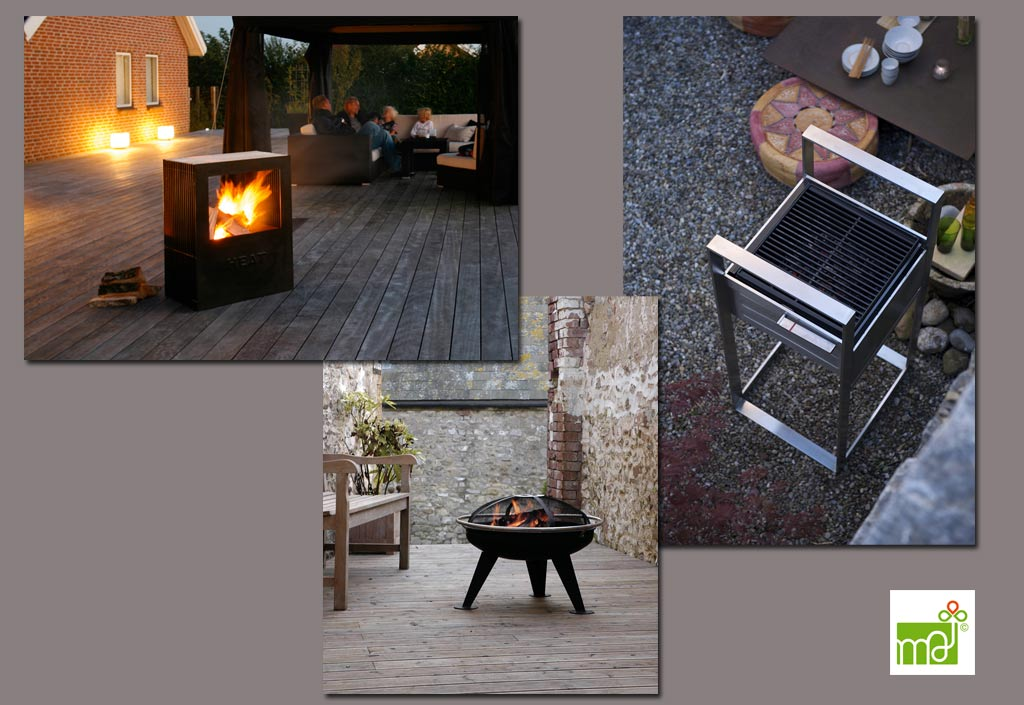Bras ro alternative au barbecue mobilier de jardin for Brasero de jardin belgique