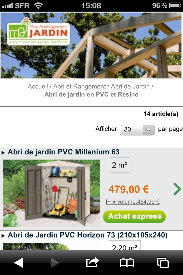 Mobilier de jardin rangement jeux am nagement jardin for Application amenagement jardin