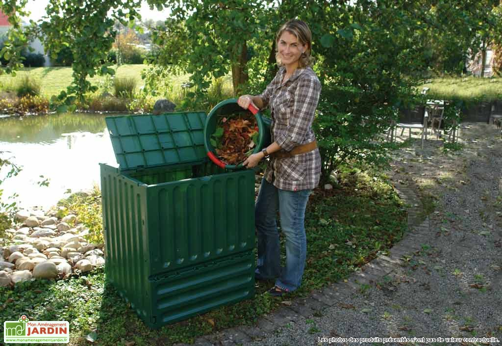 recyclage bac compost mobilier de jardin rangement. Black Bedroom Furniture Sets. Home Design Ideas