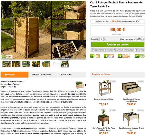 Nouveau design mon am nagement jardin mobilier de jardin for Blog amenagement jardin
